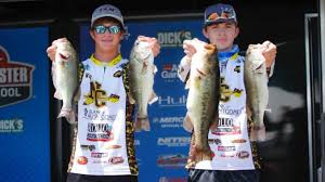 Bassmaster Fishing Chart Natchitoches High Lead Day One Bassmaster High School