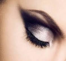 makeup smokeyeye glittery black swaneye