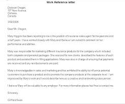 What How To Write A Professional Letter Leave Work Reference