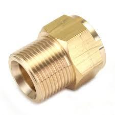 m22 brass high pressure washer adapter