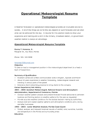Sample Of Government Resume How To Write A For Ontario Jobs Military