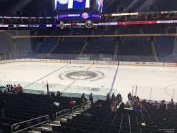 Buffalo Sabres Arena Seating Chart Keybank Center Section 206 Buffalo Sabres Rateyourseats Com