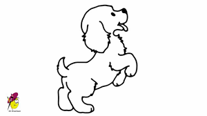 dog drawing easy. Exellent Dog On Dog Drawing Easy YouTube