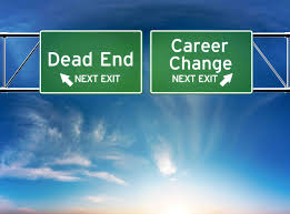 midlife career change plotline leadership career change or dead end job concept