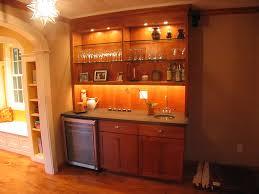 wet bar lighting. wet bar with open shelving and undercabinet lighting photo source platt l