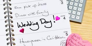 12 Months Wedding Planning Guide
