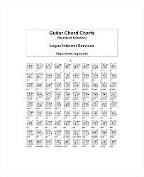 Guitar Bar Chord Chart Printable Chords Basic Bluedasher Co