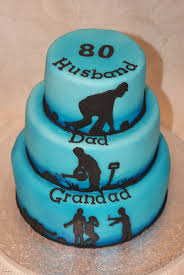 Easy Cake Decorating Ideas At Home Luxury 80th Birthday Cake Husband