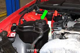 bmw e coolant flush e e e pelican parts diy large image extra large image