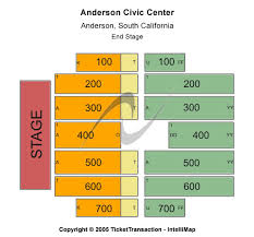 Anderson Center Seating Chart Cheap Anderson Civic Center Tickets
