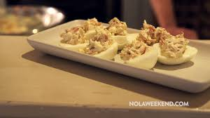 Passover is the jewish celebration of god's liberation of the israelites from egyptian slavery. Need A Recipe For Passover Try These Smoked Salmon Deviled Eggs From Shaya Restaurant Nola Weekend
