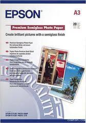 Полуглянцевая <b>фотобумага Epson Premium</b> Semigloss Paper A3 ...