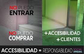 Resultado de imagen de ley de accesibilidad 2017