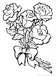 Rose Flower Coloring Pages Nice Flower Coloring Games Coloring Pages
