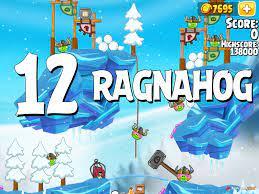 Angry Birds Seasons Ragnahog Level 1-12 Walkthrough
