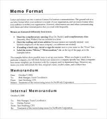 Writing Internal Memo