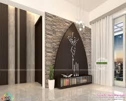 Christian Prayer Wall Designs Amazing Prayer Room Design Interior Idea Living Kerala Style