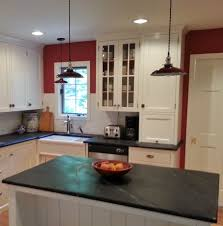 Industrial Lighting Kitchen Porcelain Kitchen Pendants Add Punch To Delaware Makeover Blog