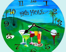 Image result for bar golf cartoon