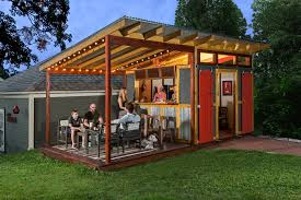 shed lighting ideas. man shed farmhouse with outdoor entertaining red barn doors lighting ideas e