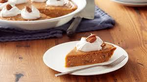 impossibly easy pumpkin pecan pie