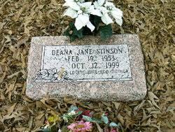 Deana Jane Mulherin Stinson (1953-1999) - Find A Grave Memorial
