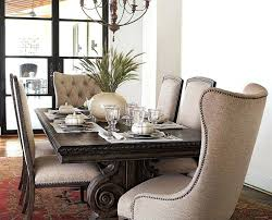 stirring upholstered dining chairs with sets black leather tufted dining chairs with nailhead trim