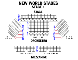 New York City Center Seating Chart View Broadway London And Off Broadway Seating Charts And Plans