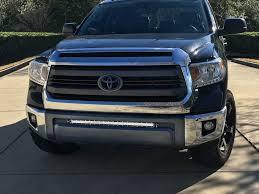 Tundra Front Bumper 30 LED Light Bar Bracket Kit | Dan's list ...