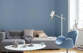 Premium Wandfarbe Blau Graublau Alpina Feine Farben Ruhe Des