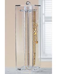 Jewelry Necklaces Stand Holder and Organizer for Long Necklaces