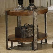 brilliant round rustic end table coffee table design ideas inside rustic end table