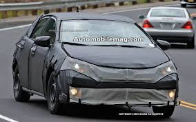 Spotted! 2014 Toyota Corolla Caught Out Testing