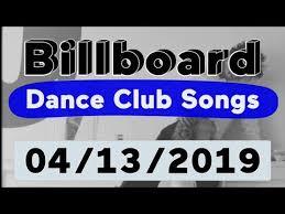 Billboard Top 50 Dance Club Songs April 13 2019