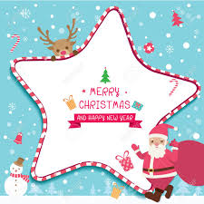 Illustration Vector Of Merry Christmas And Happy New Year Card