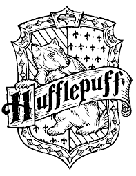 Small Picture HufflePuff Sign Free Coloring Page Harry Potter Movies Coloring