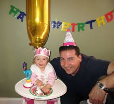 to my daughter on her first birthday