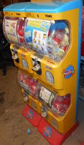 Tomy Gacha Vending Machine Fascinating TOMY GACHA CAPSULE MACHINE System48 HEAD VEND UNITNO ELECTRICITY
