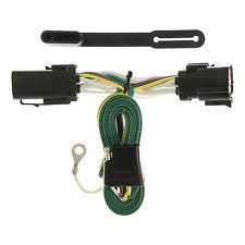 f250 trailer wiring harness curt vehicle to trailer wiring harness 55256 for ford f 150 f