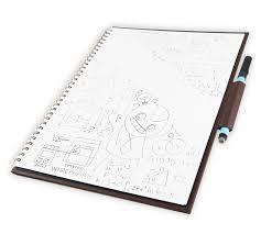 Reusable Flip Chart Paper Wipebook Reusable Whiteboard Notebooks Dry Erase Flip