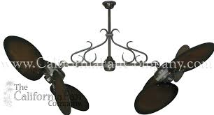 double ceiling fans twin star double ceiling fan with large distressed walnut blades double ceiling fan double ceiling fans