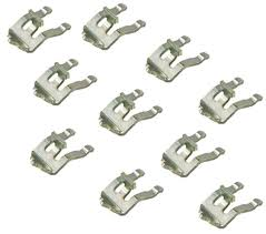 metal clips for wire support pole set of 10 image