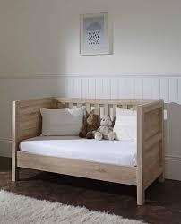 Milan Bedroom Furniture Milan Cot Bed Reclaimed Oak