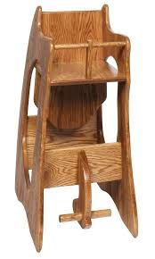 three in one highchair rocker and desk wide from amish rocking horse high chair plans wooden rocking horse