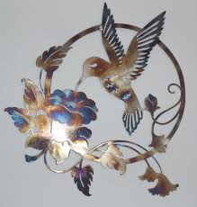 hummingbird wall art uk