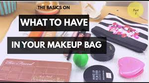 what to have in your makeup bag