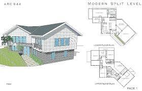 tri level house plans 1970s level house 4 level side split house plans new baby nursery