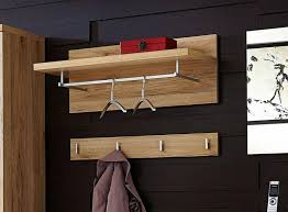 Oak Coat Racks Germania Top Contemporary Coat Rack and Coat Hook in White or Oak 52