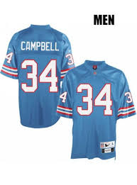 Houston Oilers Jersey Earl Campbell