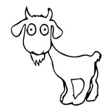 Small Picture Top 25 Free Printable Goat Coloring Pages Online